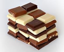 Strupena hrana za pse in mačke, Čokolada